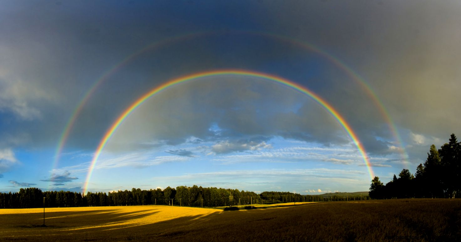 Natural Rainbow Wallpaper   WallpaperSafari