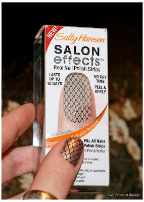 nail strips, sally hansen, маникюр, наклейки