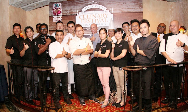 US Potato Culinary Festival Kuala Lumpur 2015, US Potato, Sheraton Imperial Hotel, Kuala Lumpur