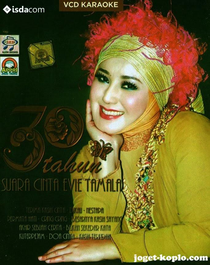 moneta 30 tahun suara cinta evie tamala 2013, cover album evie tamala