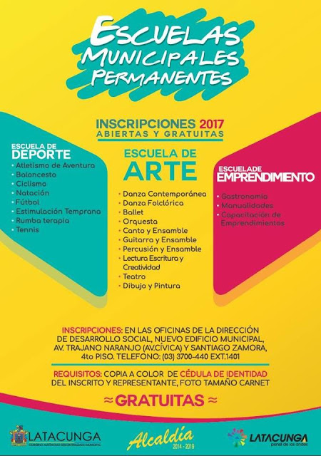 Cursos Permanentes Dirección de Desarrollo Social GAD Latacunga