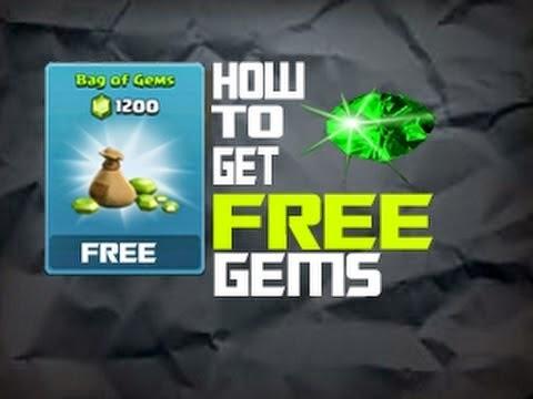 logo 1200 gem coc gratis