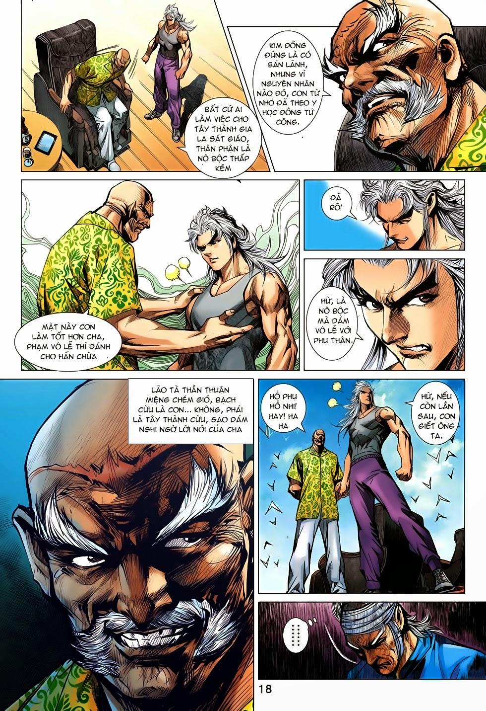 Tân Tác Long Hổ Môn chap 708 - Trang 19