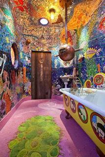 amazing psychedelic toilet