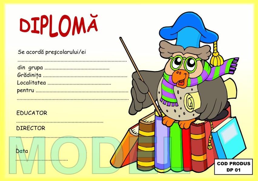 Diplome Pentru Copii Scolari Si Prescolari