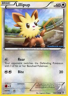 Lillipup Boundaries Crossed Pokemon Card