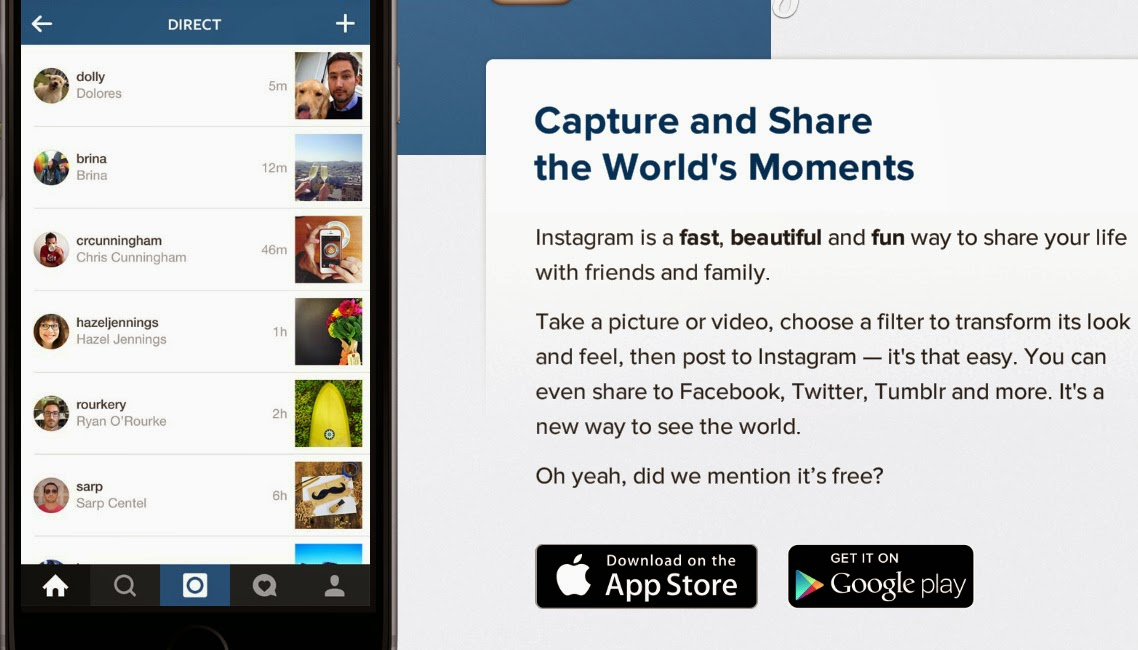 how to get on instagram homepage