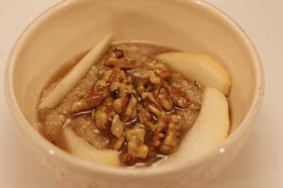 steel cut oats porridge