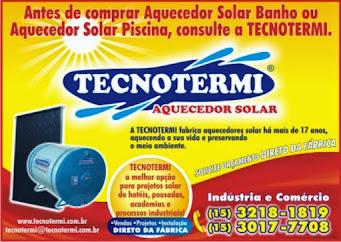 TECNOTERMI AQUECEDORES SOLAR