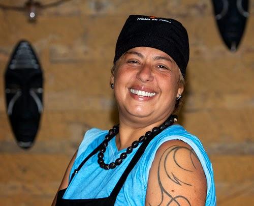 Soraya Mariz, chef da cozinha da Creperia das Meninas