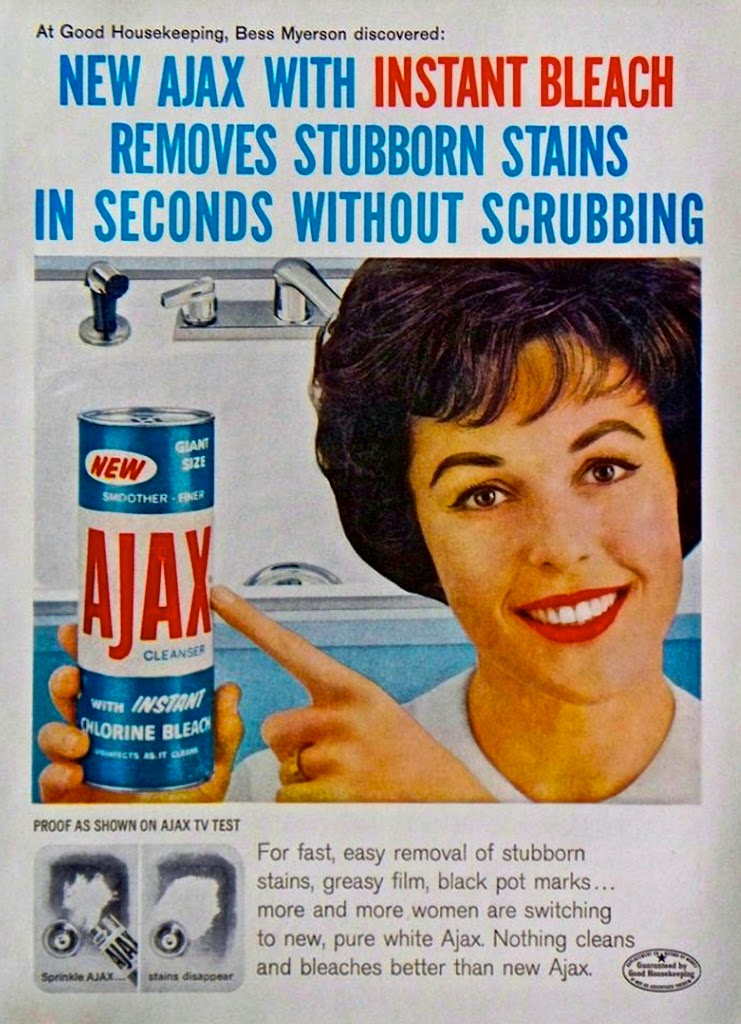 1950s AJAX Ad VS My Can Today