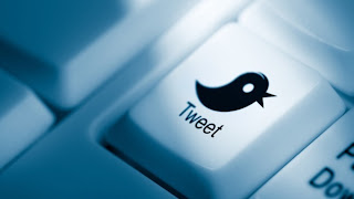 Twitter - Social Media - Tweet - Keyboard - Button