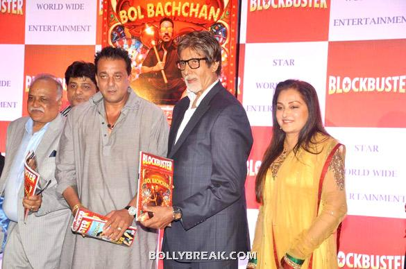 Sanjay Dutt, Amitabh Bachchan, Jaya Prada - Launch of T P Aggarwal&#39;s trade magazine &#39;Blockbuster&#39;