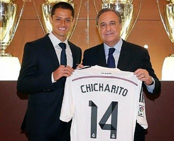 Chicharito Hernández Real Madrid
