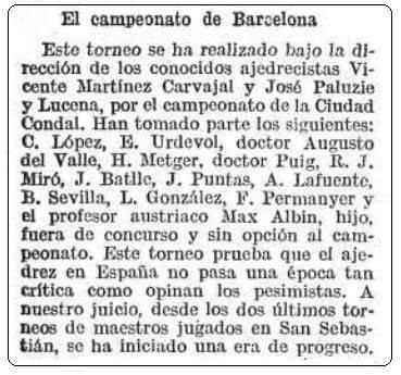 Recorte revista Caras y Caretas, 8 de febrero de 1913
