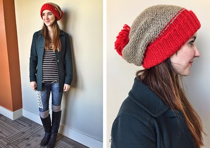free people henley, striped henley, beanie with pom pom, free people beanie, winter outfit inspiration, winter style 2015, winter boots and socks