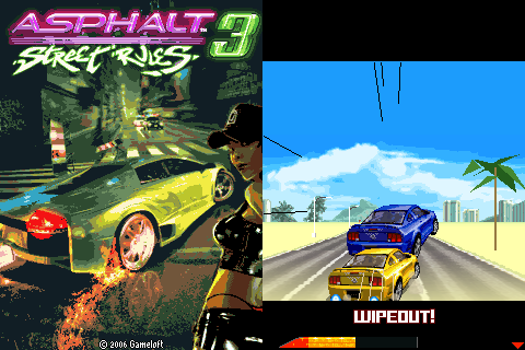 Asphalt 3 240 x 320 Touchscreen Mobile Java Game