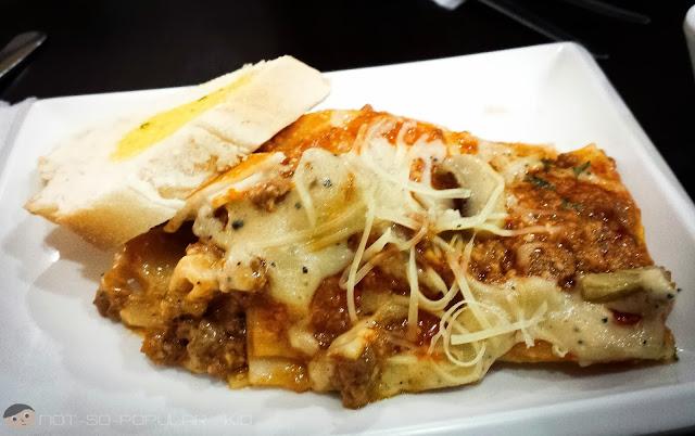"""Nitz Restaurant's """"Special"""" Lasagna"""