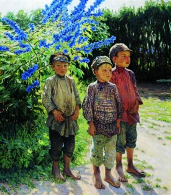 живопись русских художников: