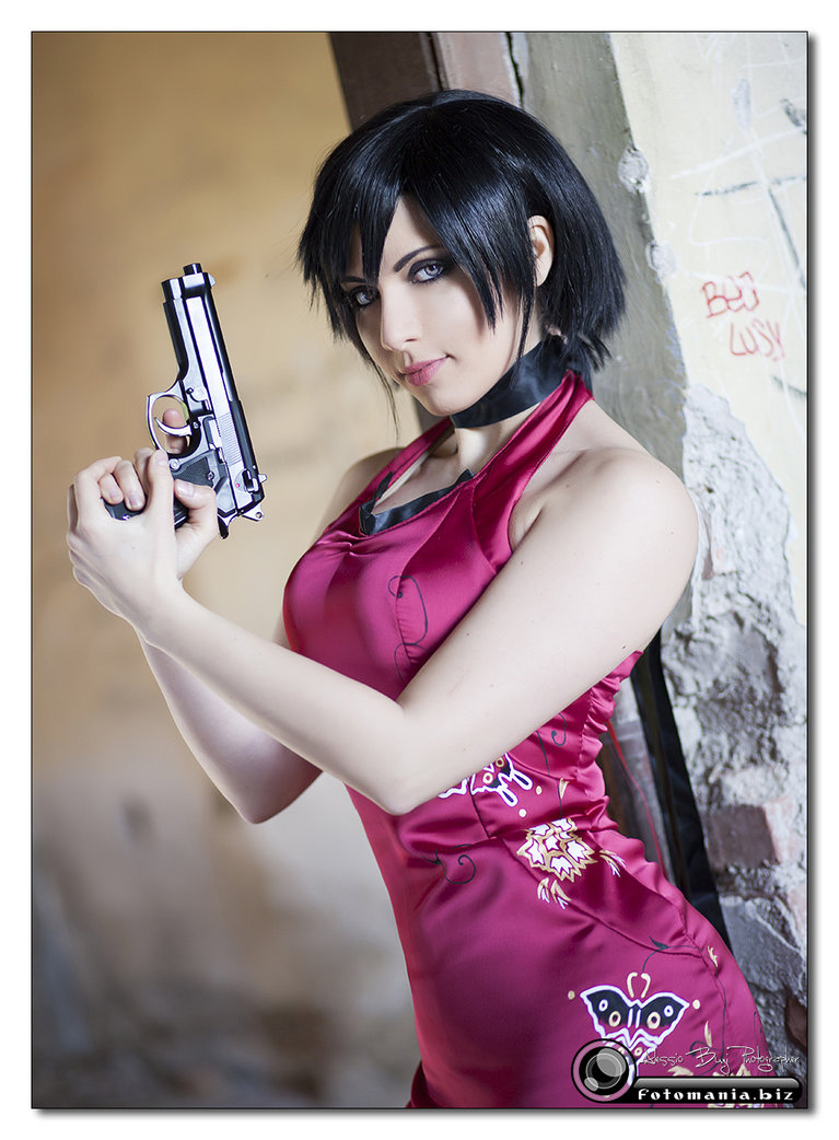 Hot foto cosplay ada wong di resident  nackt video