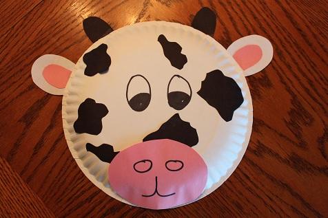 Reese\u0027s Paper Plate Cow & Miss Zolkosky\u0027s Kindergarten Class: Reese\u0027s Paper Plate Cow