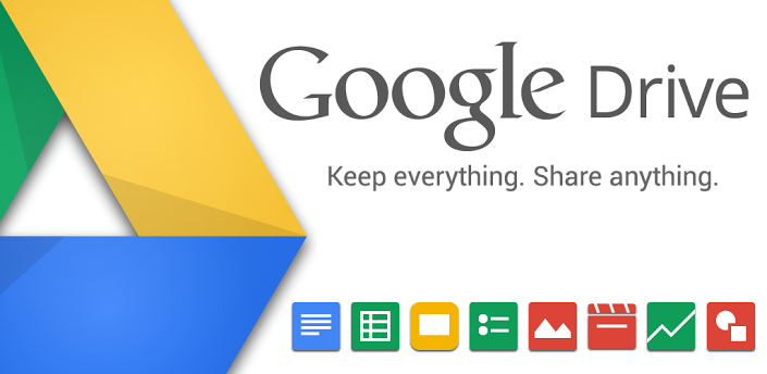 Google Drive for project sharing