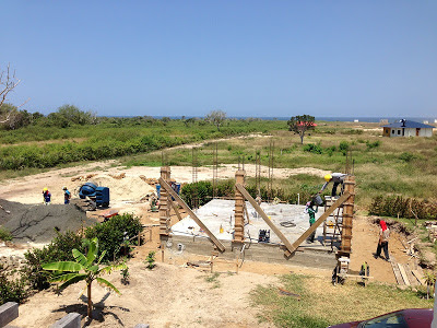 Retiring in Ecuador- building a rental home on the coast of Ecuador.