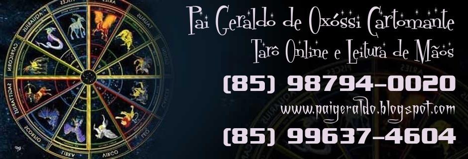 PAI GERALDO DE OXÓSSI CARTOMANTE