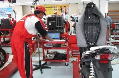 Tips Sederhana Untuk Merawat Motor Matic Yang Benar