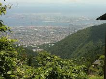 View of Kobe from Rokko mountain