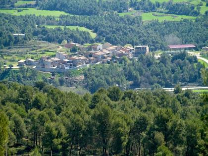 La Galera o el Gramolar vista des de la Carena de Vilafresca