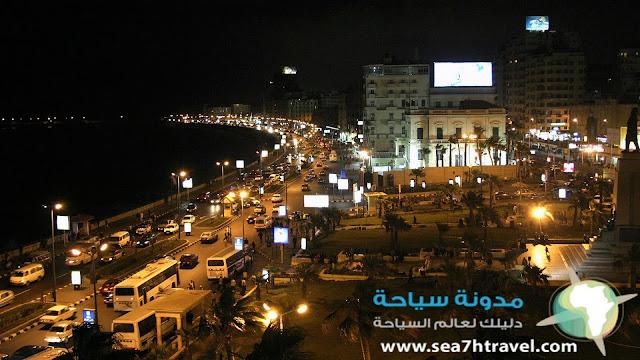معلومات سياحية عن مدينة الإسكندرية