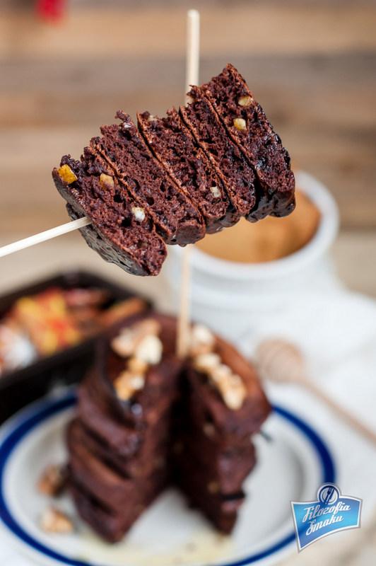 Kakaowe placuszki z przyprawą do piernika