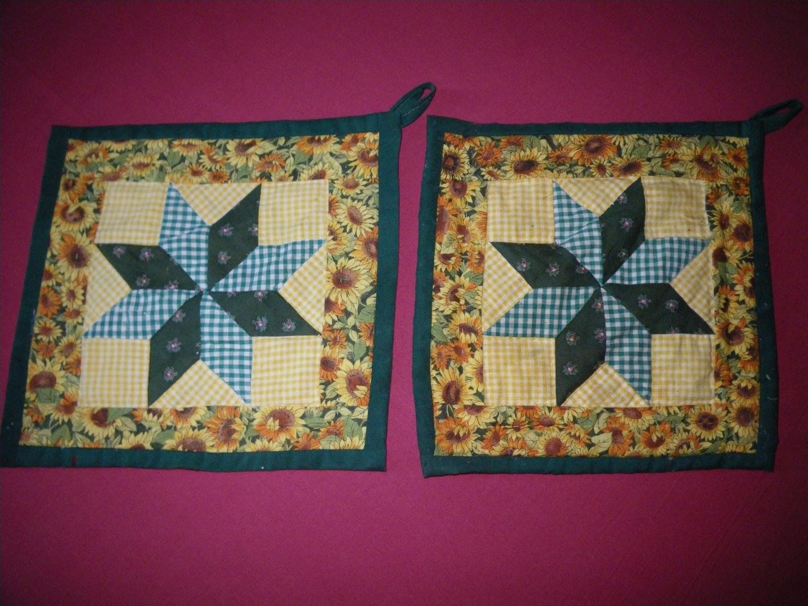 Il nastro a pois lavori del passato - Tecnicas de patchwork a mano ...