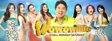 Wowowillie (formerly known as Willing Willie from 2010 – 2011 and Wil Time Bigtime from 2011 – 2013) is a former Philippine prime time variety game show broadcast by TV5,...