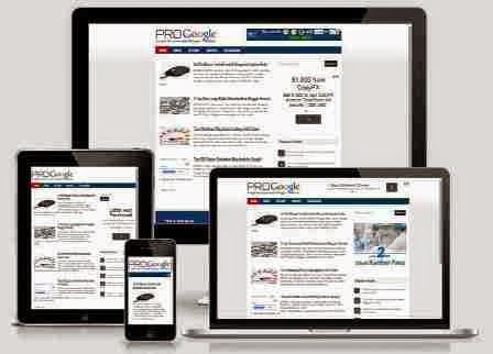 Template Blog Rekomendasi Google - Pro Google Theme