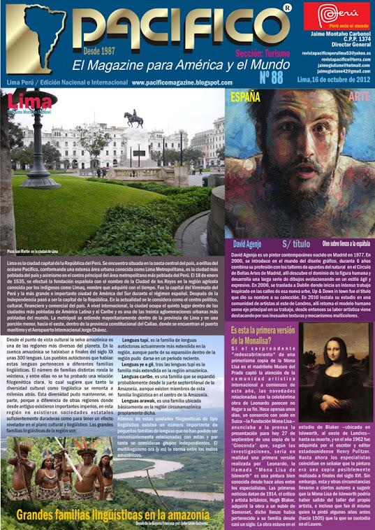 Revista Pacífico Nº 88 Turismo