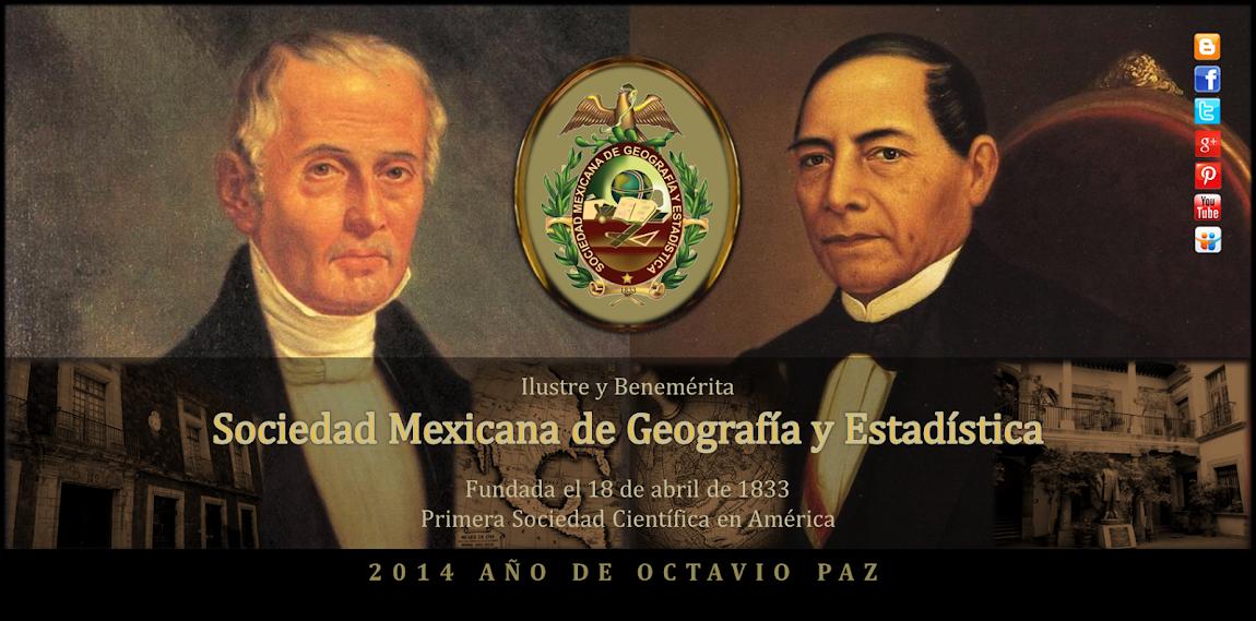 Sociedad Mexicana de Geografía y Estadística, A.C.