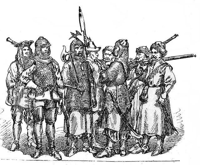 Żołnierze_polscy_1674_1696_Jan_Matejko
