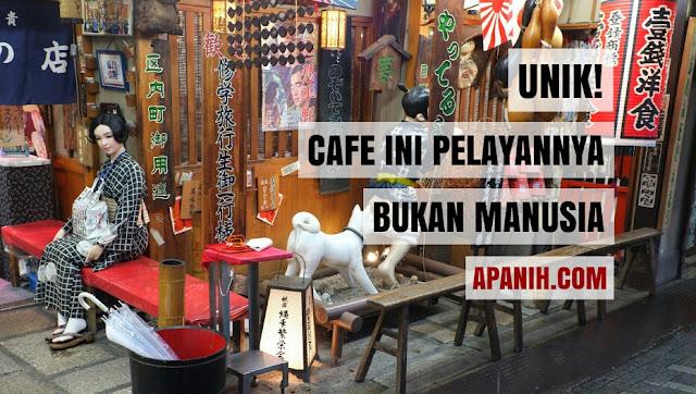 Unik! Cafe Ini Pelayannya Bukan Manusia
