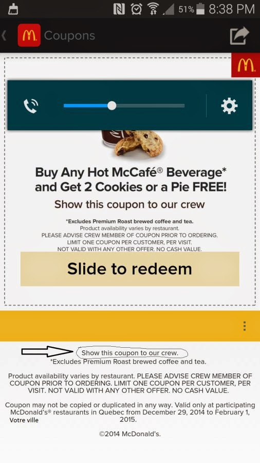 mcdonalds canada coupon app