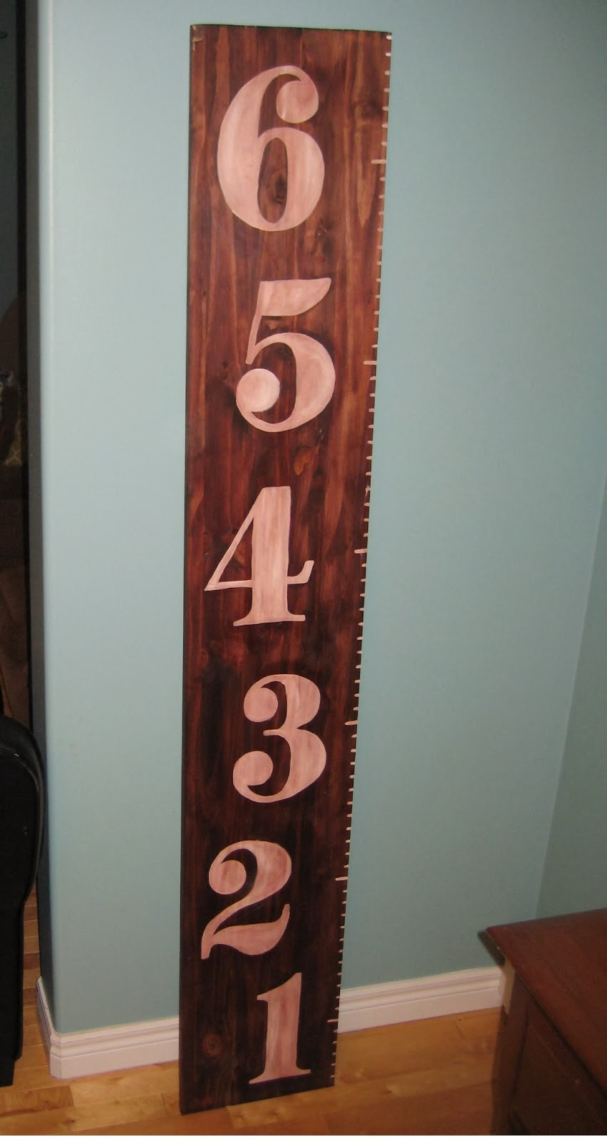 Making a ruler-style vintage growth chart