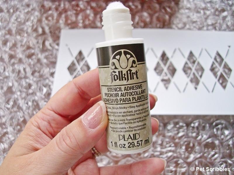 FolkArt Stencil Adhesive