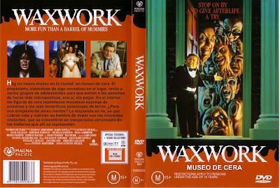 Cover, carátula, dvd: Waxwork: Museo de cera | 1988 | Waxwork