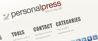 Personal Press Blogspot template