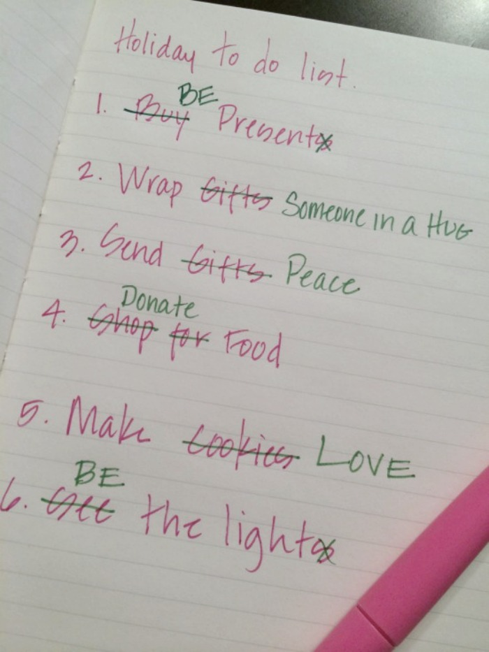 joulun to-do-lista - holiday´s to-do-list