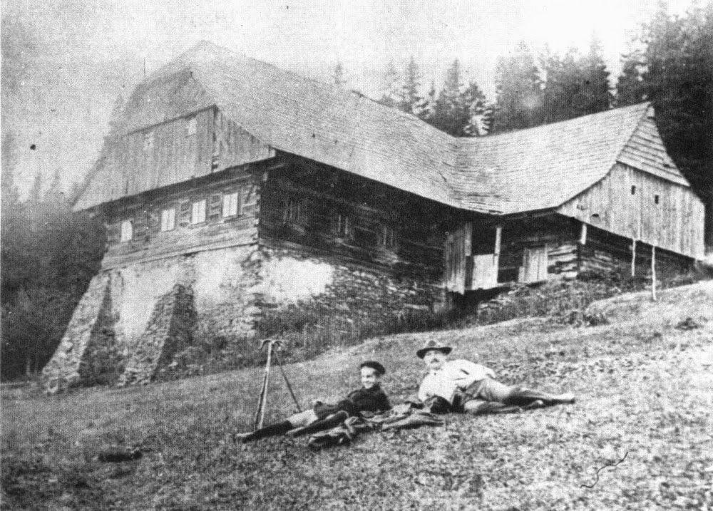 Kotelská bouda v roce 1905