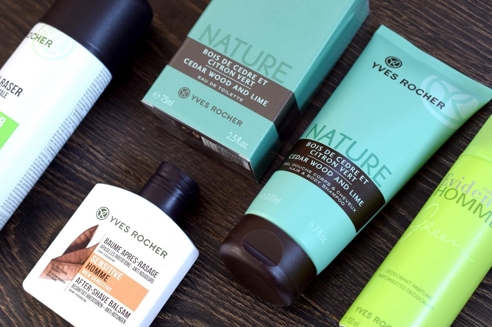 Yves Rocher Beauty-Paket für Männer
