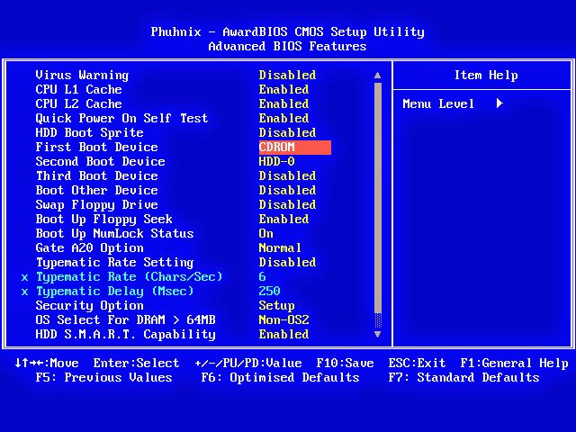 Как сделать windows 7 биос 985