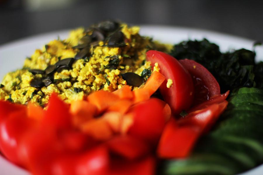 homemade vegan food